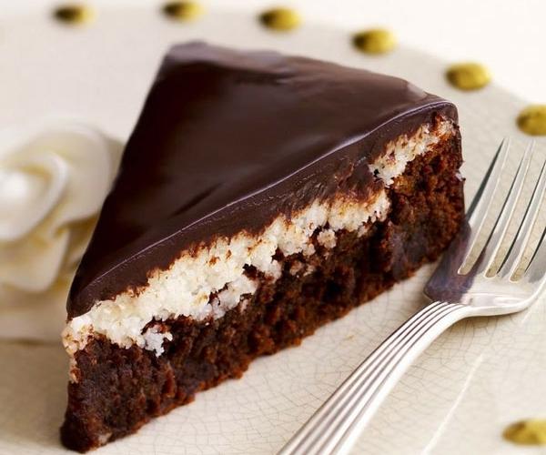 Ëmbëlsirë me kokos e çokolatë