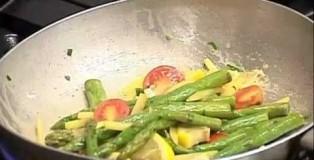Ravioli me domate / Filetë viqi me tartuf