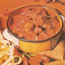 Mish viçi me salcë të kuqe