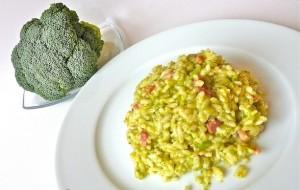 Rizoto me salsiçe dhe brokoli