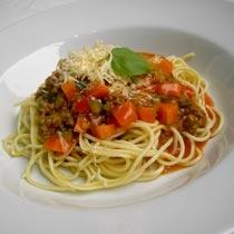 Shpageta me mish të grirë