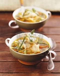 Supe peshku me perime