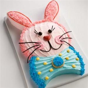 Tortë me figurë lepuri