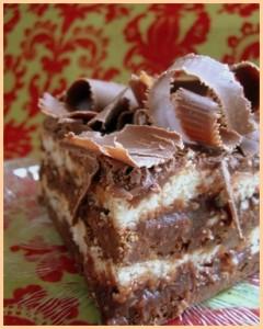 Tortë me gështenja