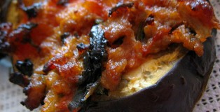 Ishuj kungulleshkash dhe patllixhanesh me domate