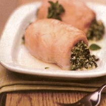 Kraharor pule të mbushura me spinaq dhe djathë