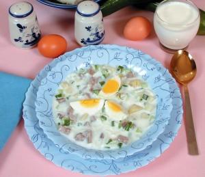 Okroshka, supë e ftohtë nga Rusia