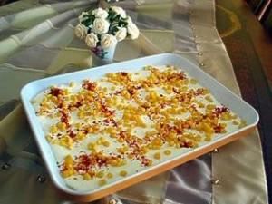Sallat patatesh me kos